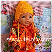 Куклы и игрушки ручной работы. Ярмарка Мастеров - ручная работа Демисезонный комплект на куклу беби бон. Handmade.