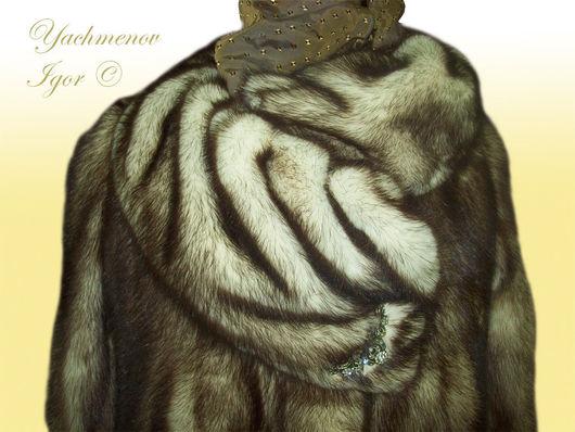Верхняя одежда ручной работы. Ярмарка Мастеров - ручная работа. Купить Норковая шуба. Handmade. Шуба