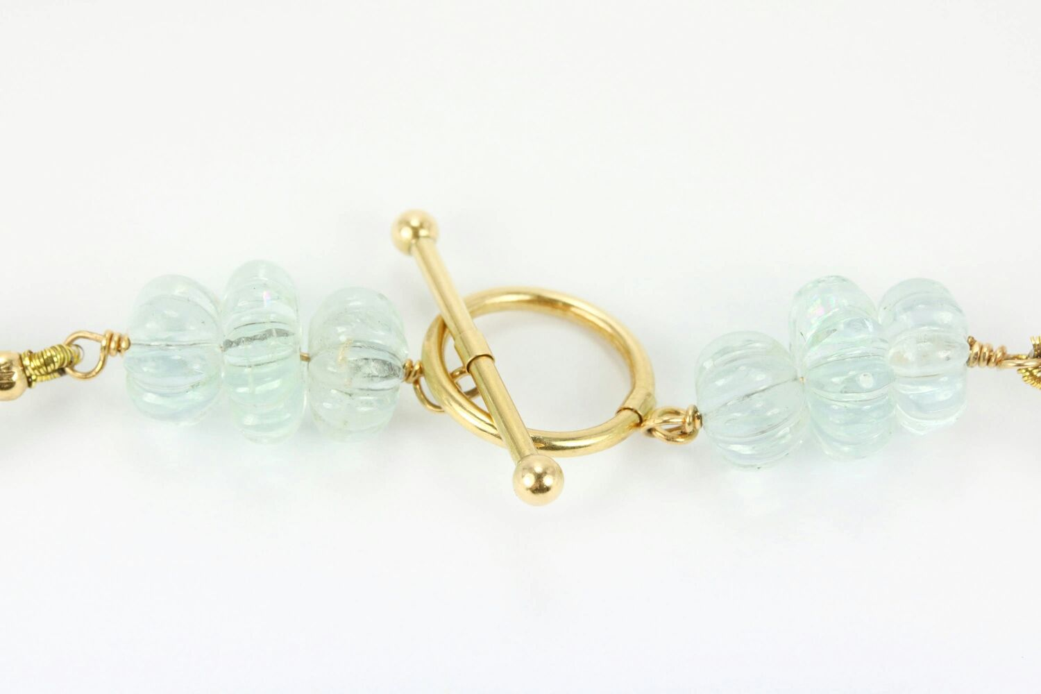 gold ring art style image sapphire deco jewellery aquamarine white and