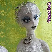 Куклы и игрушки ручной работы. Ярмарка Мастеров - ручная работа Интерьерная кукла Элиза. Handmade.