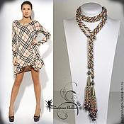 Украшения handmade. Livemaster - original item Lariat beaded harness