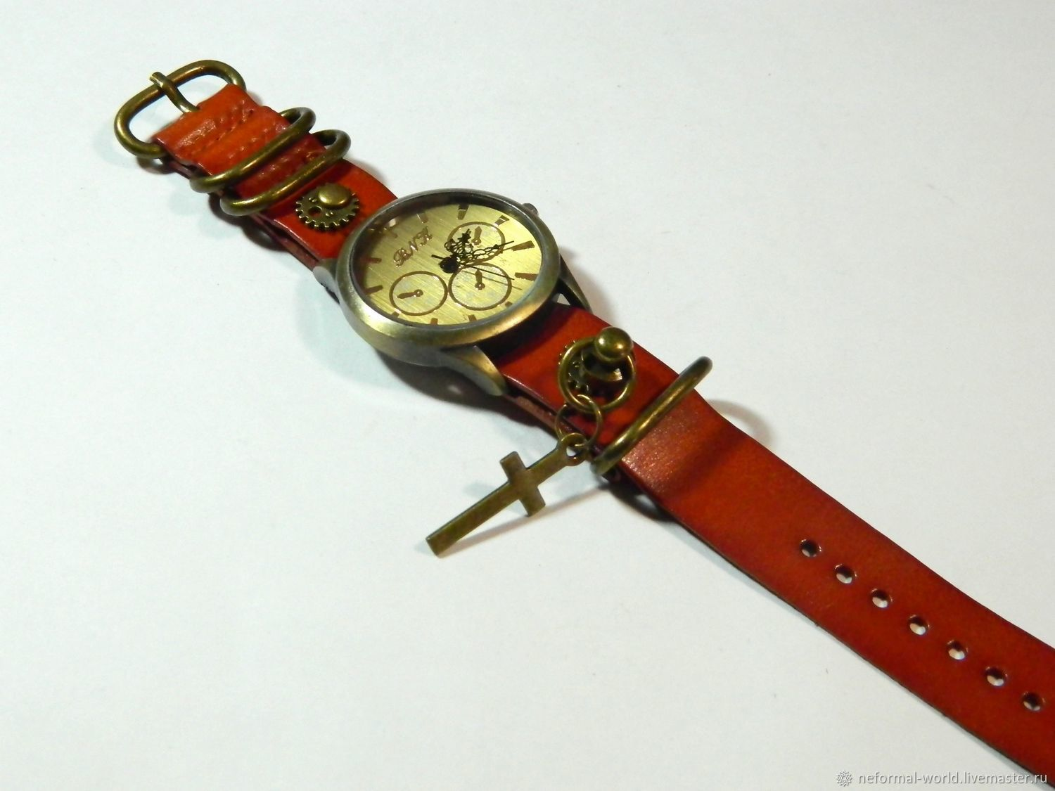 INFORMAL WRISTWATCHES ' STEAMPUNK', Watches, Saratov,  Фото №1
