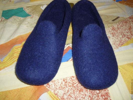 Обувь ручной работы. Ярмарка Мастеров - ручная работа. Купить Тапочки мужские. Handmade. Домашние тапочки, Тапочки ручной работы