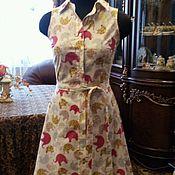 Одежда ручной работы. Ярмарка Мастеров - ручная работа Платье на лето.Слоники. Handmade.