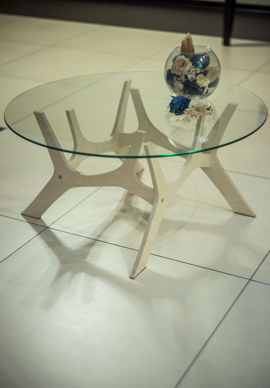Мебель ручной работы. Ярмарка Мастеров - ручная работа. Купить Журнальный столик. Handmade. Бежевый, кофейный столик, декор дома