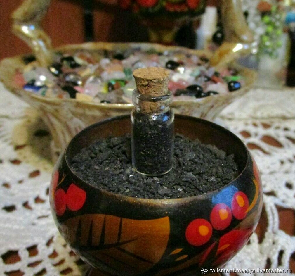 Amulet Thursday salt in a bottle to protect against the evil eye and damage, Thursday Salt, Moscow,  Фото №1