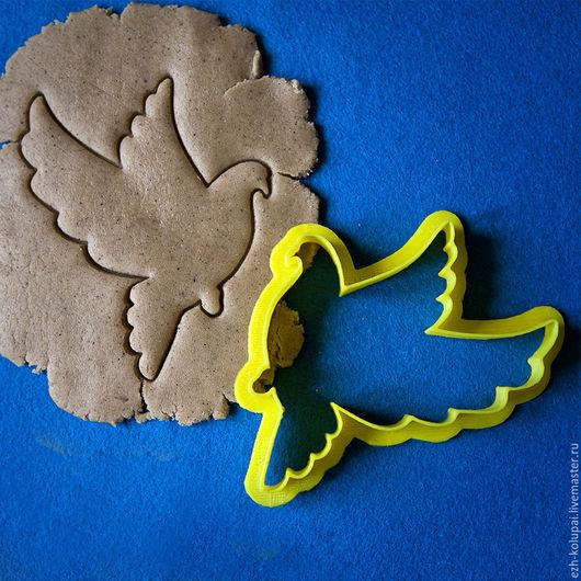 Кухня ручной работы. Ярмарка Мастеров - ручная работа. Купить Летящий голубь -№014-9см  Вырубка для пряника. Handmade.