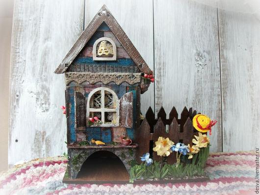 """Кухня ручной работы. Ярмарка Мастеров - ручная работа. Купить чайный домик с конфетницей """"Лето в деревне"""". Handmade. Чайный домик"""