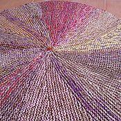 """Для дома и интерьера ручной работы. Ярмарка Мастеров - ручная работа вязаный коврик круглый """"Зонтик"""". Handmade."""
