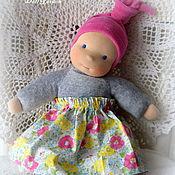 Куклы и игрушки ручной работы. Ярмарка Мастеров - ручная работа Мики, первая куколка для девочки. Handmade.