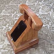 Подставки ручной работы. Ярмарка Мастеров - ручная работа Зарядка для телефона. Handmade.