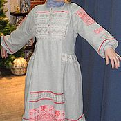 Одежда ручной работы. Ярмарка Мастеров - ручная работа платье ЛАДУШКА. Handmade.