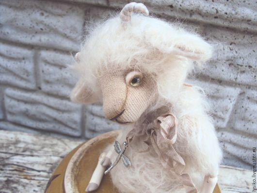 Авторский Козлик Тедди, друзья мишек тедди, подарок на любой случай
