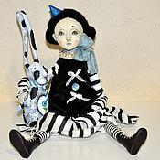 Куклы и игрушки ручной работы. Ярмарка Мастеров - ручная работа Кати. Подвижная кукла. Handmade.