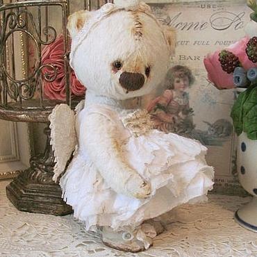 Куклы и игрушки ручной работы. Ярмарка Мастеров - ручная работа Мишка Ангела. Handmade.