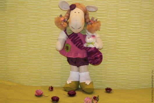 Куклы Тильды ручной работы. Ярмарка Мастеров - ручная работа. Купить текстильная игрушка Лошадка игрушка в стиле Тильды. Handmade.