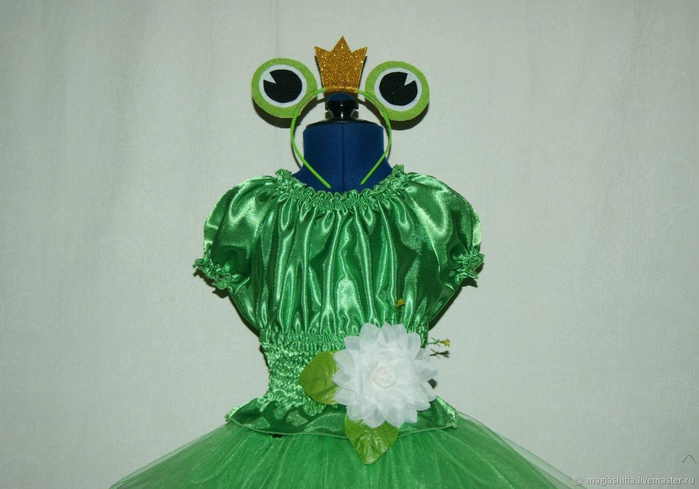 Карнавальный костюм Царевна-лягушка – купить в интернет ... - photo#24