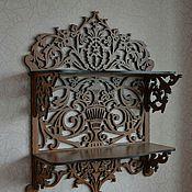 Для дома и интерьера manualidades. Livemaster - hecho a mano Shelf 2 tier Renaissance shelf. Handmade.