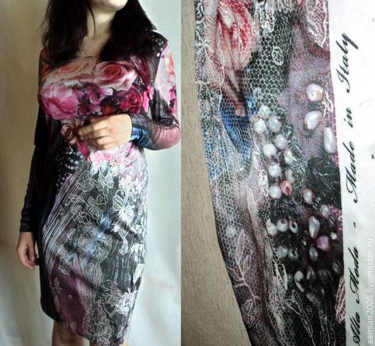 """Платья ручной работы. Ярмарка Мастеров - ручная работа. Купить платье """"Розовый вальс"""". Handmade. Цветочный, разноцветный"""