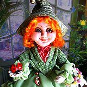 Куклы и игрушки ручной работы. Ярмарка Мастеров - ручная работа ИНДИС эльфочка  текстильная кукла. Handmade.
