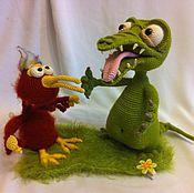 Куклы и игрушки ручной работы. Ярмарка Мастеров - ручная работа Мастер-класс по вязанию Кокоша и птичка Тари. Handmade.