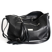 Сумки и аксессуары handmade. Livemaster - original item Crossbody Bag Crossbody Bag Hobo Bag with Shoulder Strap. Handmade.