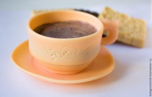 """Мыло ручной работы. Ярмарка Мастеров - ручная работа. Купить Мыло """"Чашечка кофе"""". Handmade. Чашка кофе, сладкоежке"""