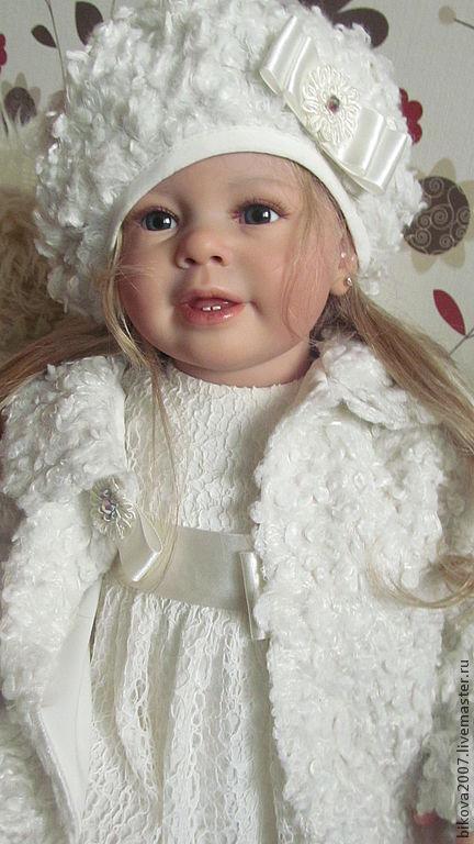 Куклы-младенцы и reborn ручной работы. Ярмарка Мастеров - ручная работа. Купить Принцесса Мари!!!. Handmade. Бежевый, стекло лауша