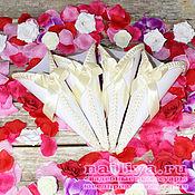 Свадебный салон handmade. Livemaster - original item Wedding packages for the petals. Handmade.