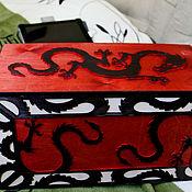 Для дома и интерьера ручной работы. Ярмарка Мастеров - ручная работа Короб Black Dragon. Handmade.