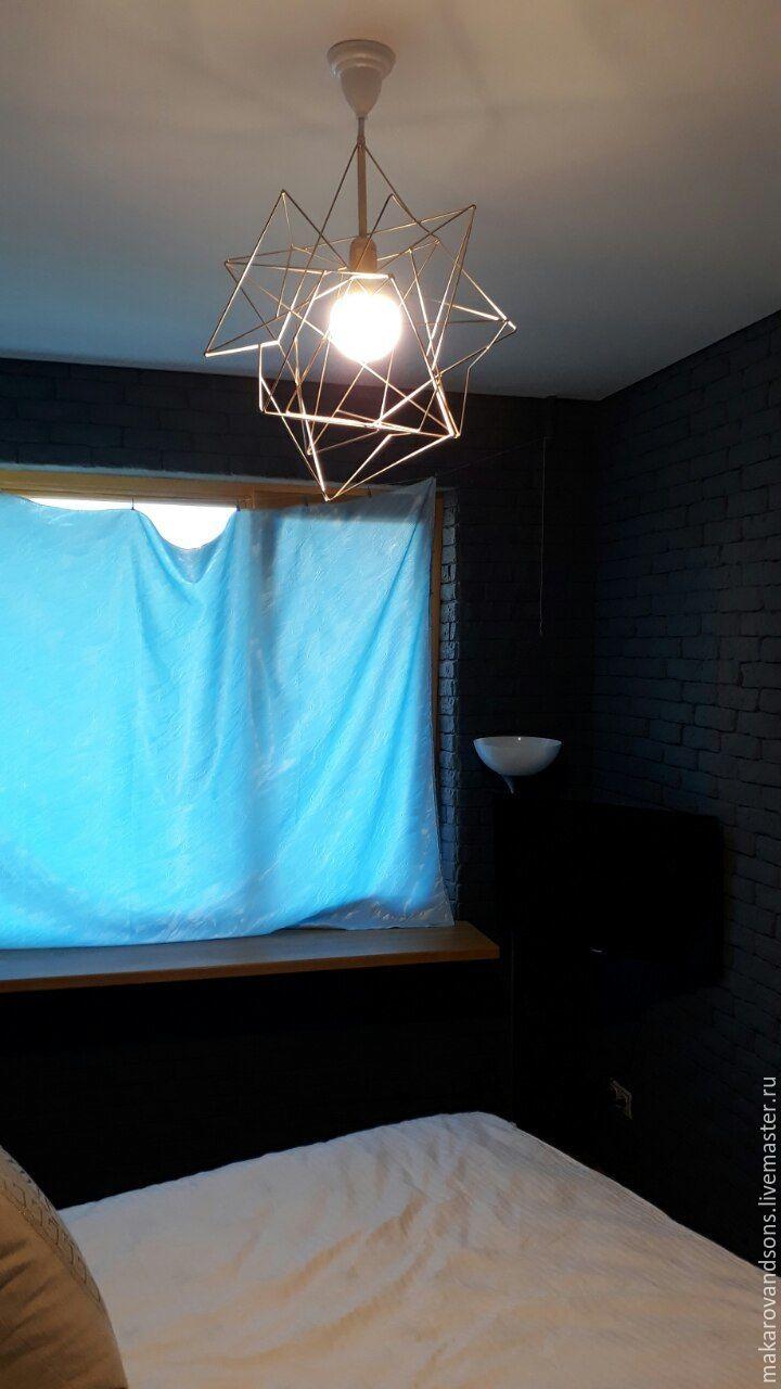 Pendant light, Loft-style, gold, Chandeliers, Vitebsk,  Фото №1