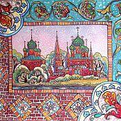 Картины и панно handmade. Livemaster - original item Batik painting