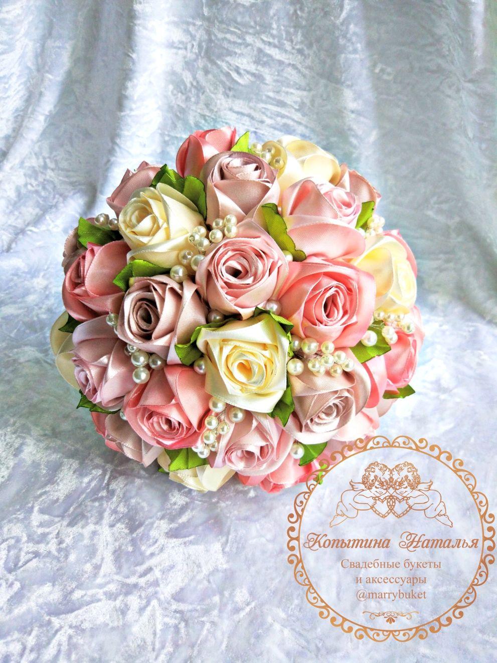 """Букет невесты """"Пепел розы"""" вариант 2, Свадебные цветы, Санкт-Петербург, Фото №1"""