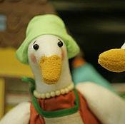 Куклы и игрушки ручной работы. Ярмарка Мастеров - ручная работа Гуси. Мягкая игрушка. Handmade.