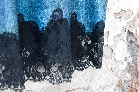 Блузки ручной работы. Ярмарка Мастеров - ручная работа. Купить Валяная блуза Лабрадор в оправе. Handmade. Морская волна