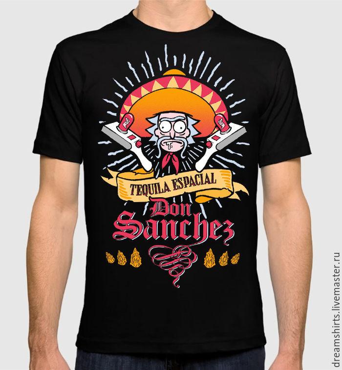 "Футболка с принтом ""Рик и Морти - Don Sanchez"", T-shirts, Moscow,  Фото №1"
