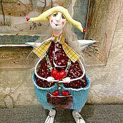 Куклы и игрушки ручной работы. Ярмарка Мастеров - ручная работа Ангел в желтой шапочке. Handmade.
