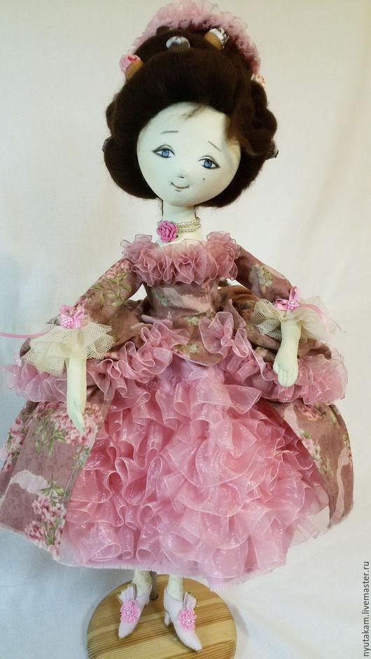 Коллекционные куклы ручной работы. Ярмарка Мастеров - ручная работа. Купить Интерьерная кукла. Сладкие истории.. Handmade. Комбинированный, ленты