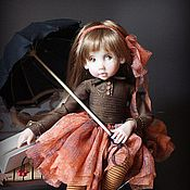 Куклы и игрушки ручной работы. Ярмарка Мастеров - ручная работа Осень уже не спорит с модой на белый цвет. Handmade.
