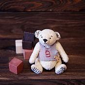 Куклы и игрушки ручной работы. Ярмарка Мастеров - ручная работа Мишка тедди-медвежонок. Handmade.