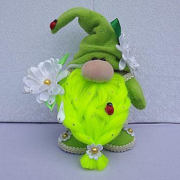 Куклы и игрушки. Ярмарка Мастеров - ручная работа Игрушки: Интерьерный гном. Handmade.