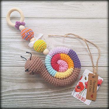 Куклы и игрушки ручной работы. Ярмарка Мастеров - ручная работа Игрушка-грызунок/подвеска. Handmade.