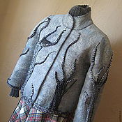 """Одежда ручной работы. Ярмарка Мастеров - ручная работа Жакет"""" """"Волшебный лес"""". Handmade."""
