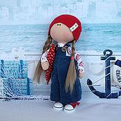 """Куклы и игрушки ручной работы. Ярмарка Мастеров - ручная работа Текстильная кукла """"Морячка"""". Handmade."""