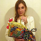Для дома и интерьера ручной работы. Ярмарка Мастеров - ручная работа МЕШОК-ПЕТУШОК мешок-подушка. Handmade.