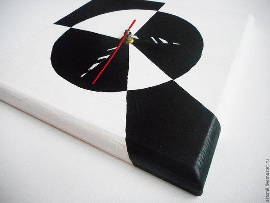 Часы для дома ручной работы. Ярмарка Мастеров - ручная работа. Купить Часы Галстук Малевича. Настенные часы. Авангард. Минимализм.. Handmade.