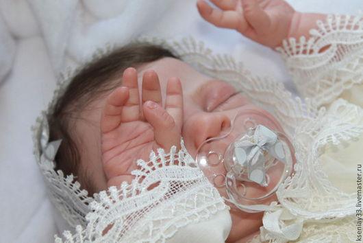 Куклы-младенцы и reborn ручной работы. Ярмарка Мастеров - ручная работа. Купить Элейн. Handmade. Розовый, подарок, мохер