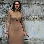 Одежда ручной работы. Ярмарка Мастеров - ручная работа Платье из трикотажа на осень повседневное с шерстью (11 цветов). Handmade.