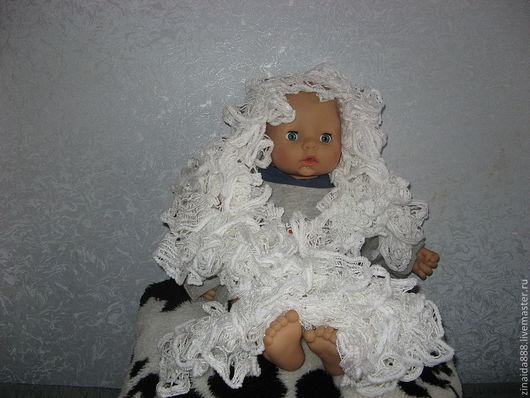 """Шарфы и шарфики ручной работы. Ярмарка Мастеров - ручная работа. Купить Шарф вязаный  """"Белый снег"""". Handmade. Шарф"""
