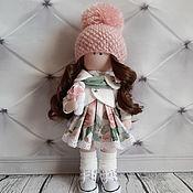 Куклы и пупсы ручной работы. Ярмарка Мастеров - ручная работа Кукла текстильная интерьерная ручной работы Кристина. Handmade.